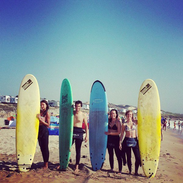 Surf lessons for groups at Alentejo Surf Camp