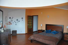 Private Double bedrooms at Peniche Surf and Kite Camp