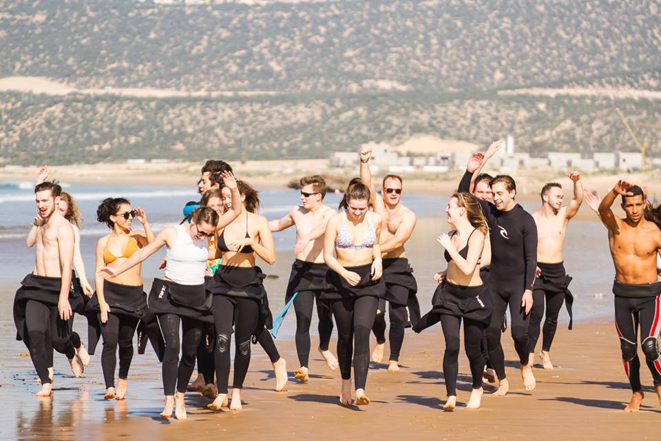 Taghazout Surf and Yoga surf lessons