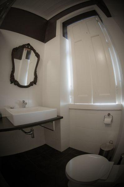 Private toilets at the Studios in Peniche