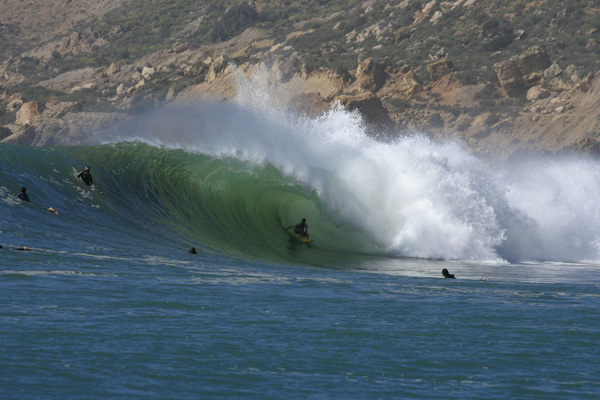 deep inside the barrel - Pro level coaching with the Safi Surf camp